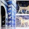 Reconstruction de la porte d'Ishtar de Babylone à Berlin